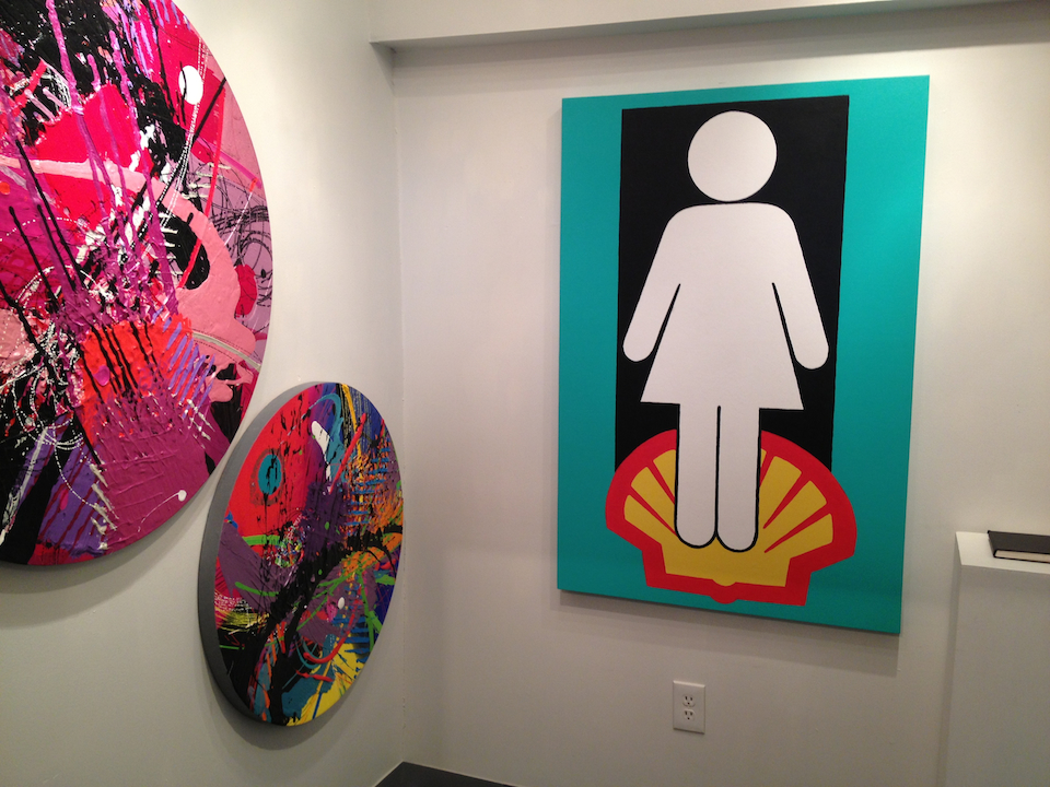 Tom Newby Venus in Gallery 37